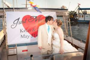 Weddings Photography - WeddingPhotographyonboatanddockHamptonRoadsWeddingPhotographer356